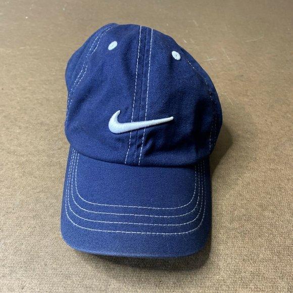 Vintage Childs Nike Strap Back Hat Hook and Loop